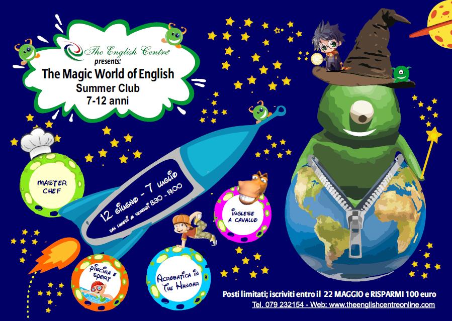 The Magic World of English Summer Club