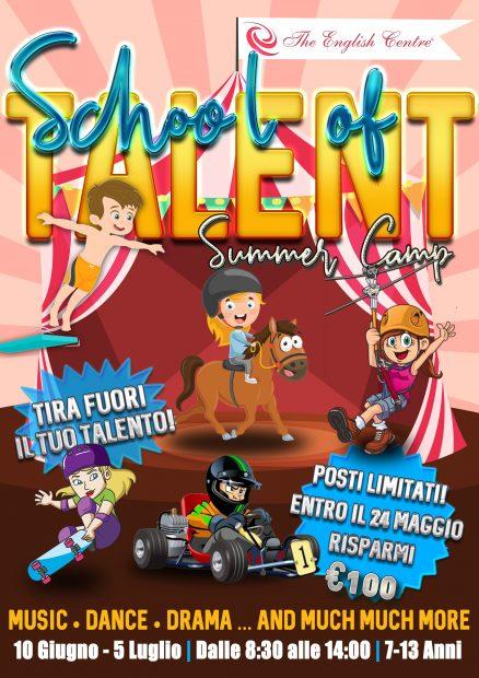 SCHOOL OF TALENT SUMMER CAMP